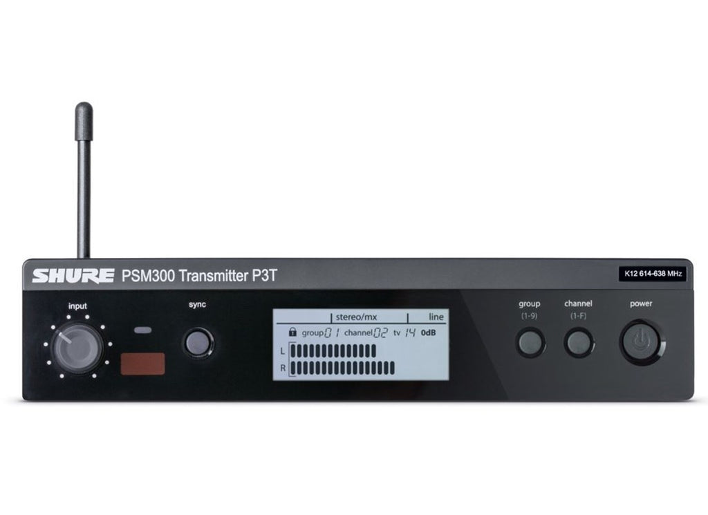 Shure P3T-G20 PSM300 Wireless Transmitter