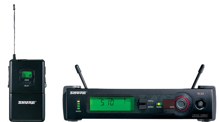 Shure SLX14 Instrument Wireless System G5 Band (494 – 518 MHz)