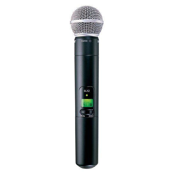 Shure SLX2/SM58-G4 Handheld Transmitter with SM58 Microphone, G4
