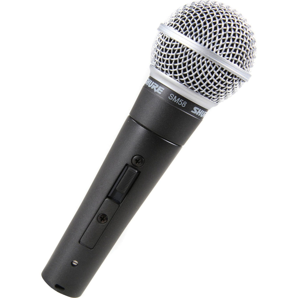 Shure SM58S Cardioid Dynamic Vocal Microphone with ON/OFF Switch