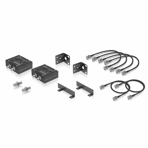 Shure Black Single Mount Tie-Clips for SM93 and WL93 (Contains Two)