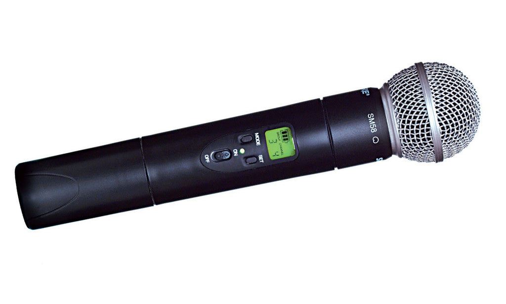 Shure ULX2/58 Handheld Transmitter with SM58 Microphone, J1