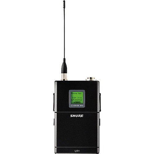 Shure UR1-G1 Wireless Bodypack Transmitter in Band G1