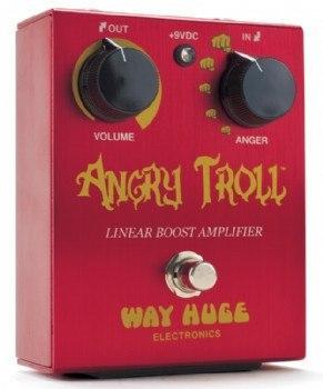 Way Huge Electronics Way Huge Electronics Angry Troll Linear Boost Guitar Effects Pedal