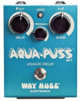 Way Huge Electronics Way Huge Electronics Aqua Puss Analog Delay Guitar Effects Pedal
