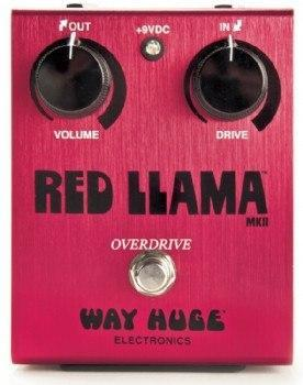 Way Huge Electronics Way Huge Electronics Red Llama Overdrive Guitar Effects Pedal