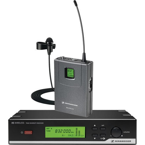 Sennheiser XSW12-A Wireless Lavalier Omni-directional Mic System - A Band (518-558 MHz)