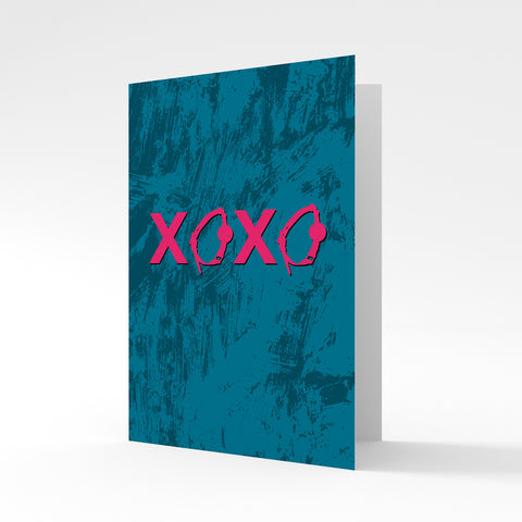 XOXO* Ball Gag - Greeting Card by Batteries Included