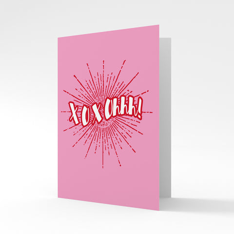 XOXOhhh! - Greeting Card by Batteries Included