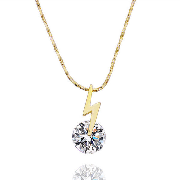 Crystal Lightening Dainty Necklace - Fierce Finds Mobile Boutique  - 4