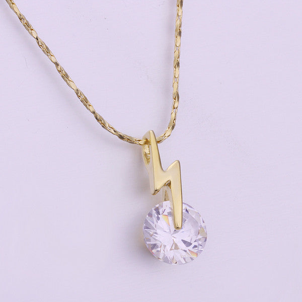 Crystal Lightening Dainty Necklace - Fierce Finds Mobile Boutique  - 6