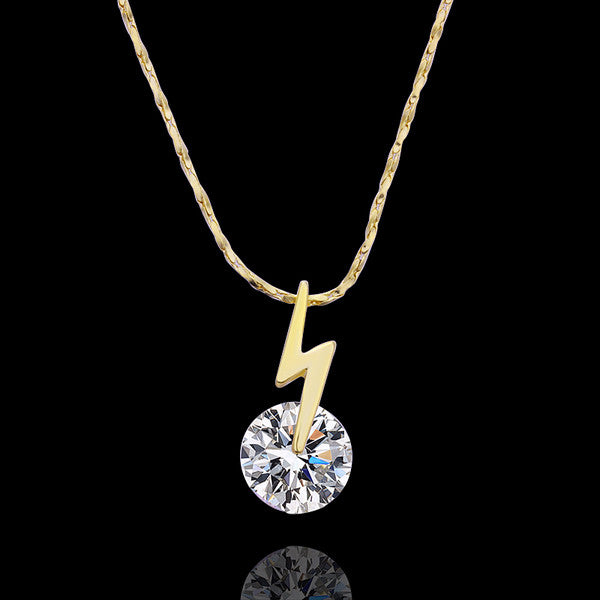 Crystal Lightening Dainty Necklace - Fierce Finds Mobile Boutique  - 7