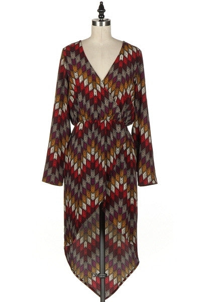 Wrap Dress Top - Fierce Finds Mobile Boutique  - 3