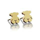 Teddy Bear Stud Earrings - Fierce Finds Mobile Boutique  - 2