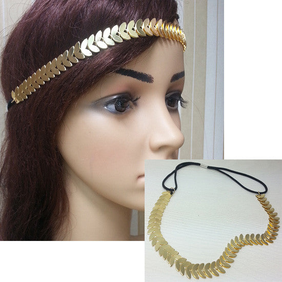 Metal Headband-Women - Accessories - Headband-Fierce Finds Mobile Boutique