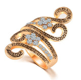 Swirl Flower Ring - Fierce Finds Mobile Boutique  - 2