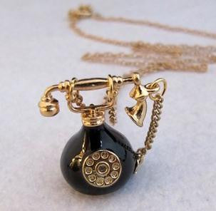 Call Me Necklace - Fierce Finds Mobile Boutique  - 2