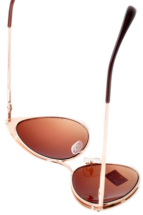Cat Eye Tinted Sunglasses - Fierce Finds Mobile Boutique  - 16