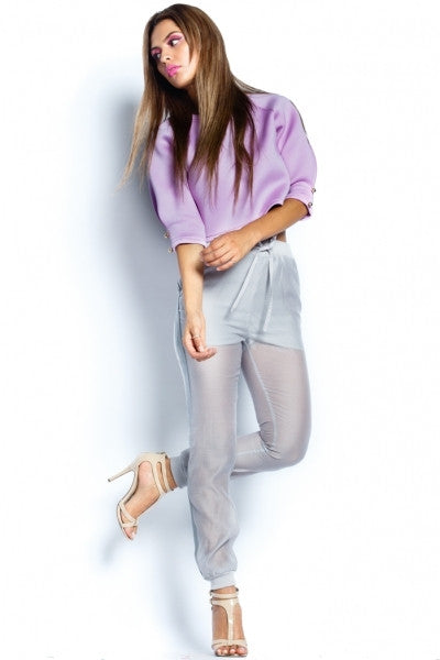 Lavender Scuba Top - Fierce Finds Mobile Boutique  - 5