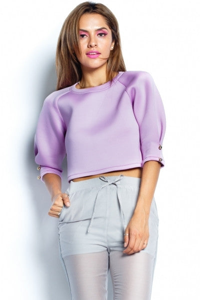 Lavender Scuba Top - Fierce Finds Mobile Boutique  - 8