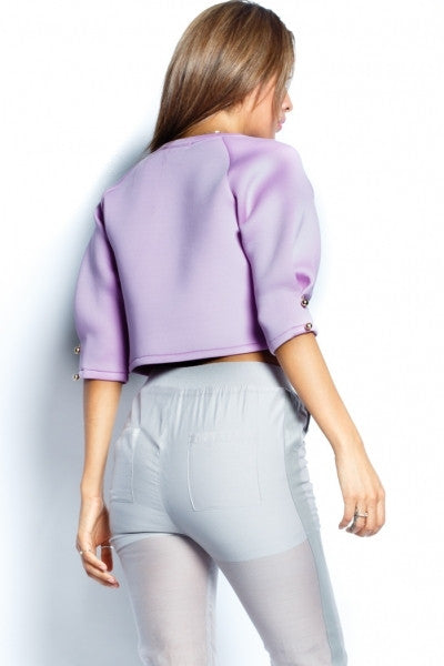 Lavender Scuba Top - Fierce Finds Mobile Boutique  - 7
