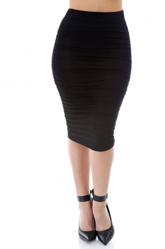 Give Curves Midi Skirt - Fierce Finds Mobile Boutique  - 3