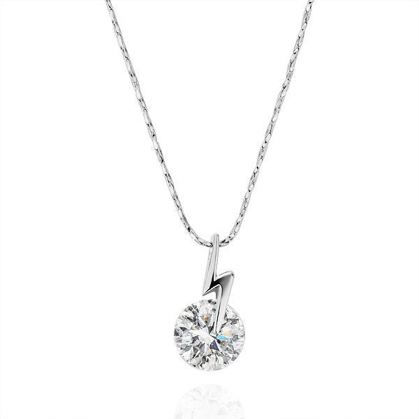 Crystal Lightening Dainty Necklace - Fierce Finds Mobile Boutique  - 2
