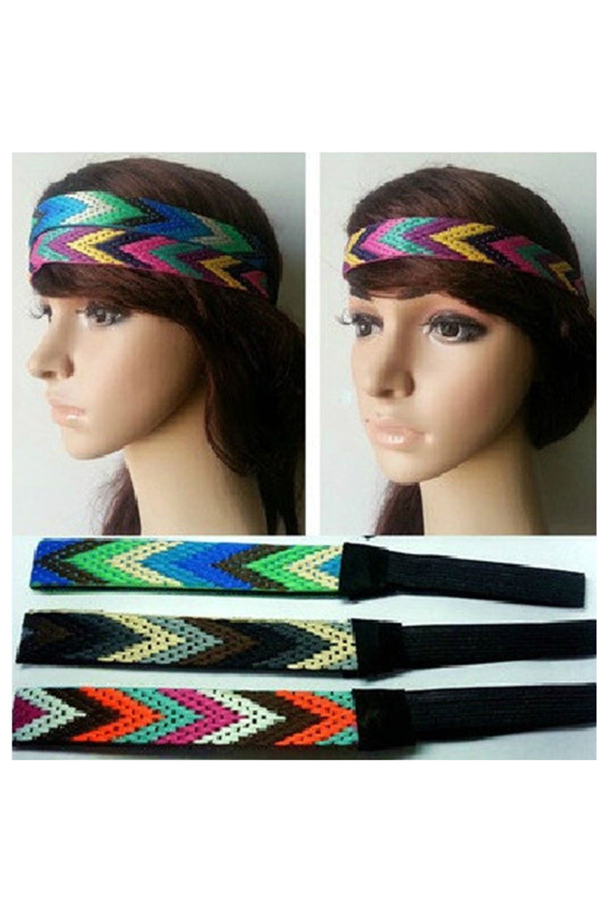 Aztec Headband-Women - Accessories - Headband-Fierce Finds Mobile Boutique