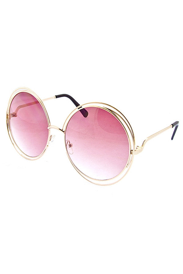 Oversized Retro Sunglassess - Fierce Finds Mobile Boutique  - 16