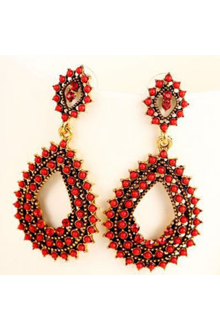 Beaded Drop Earring - Fierce Finds Mobile Boutique  - 1