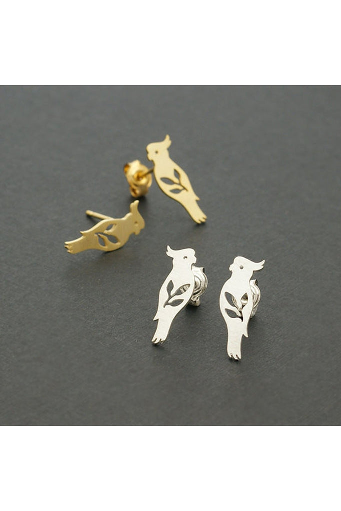 Bird Studs Earrings - Fierce Finds Mobile Boutique  - 1