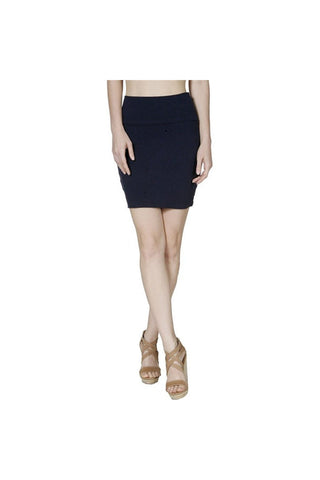 Black Bodycon Mini Skirt-Women - Apparel - Skirts - Mini-Fierce Finds Mobile Boutique