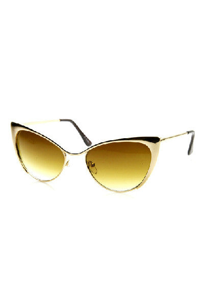 Cat Eye Tinted Sunglasses - Fierce Finds Mobile Boutique  - 12