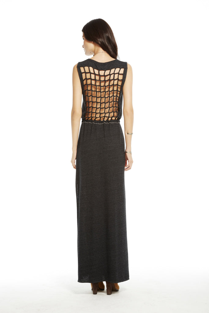 Knotted Back Maxi Dress - Fierce Finds Mobile Boutique  - 4