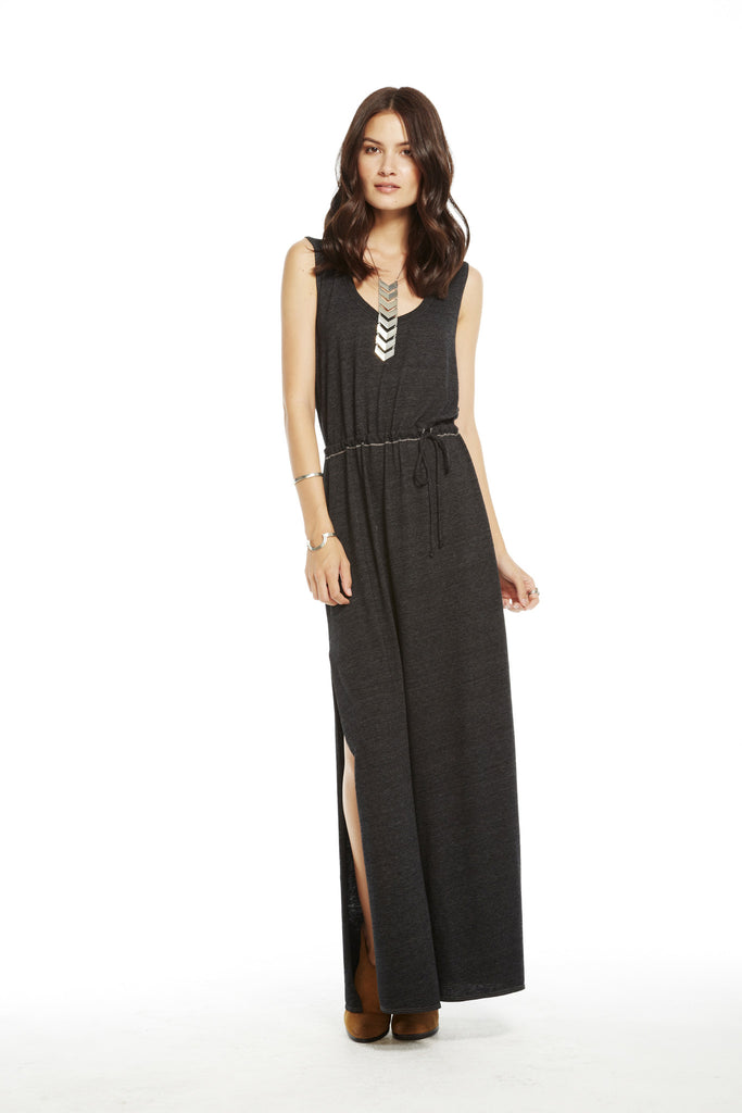 Knotted Back Maxi Dress - Fierce Finds Mobile Boutique  - 5