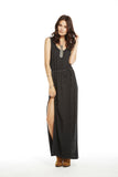 Knotted Back Maxi Dress - Fierce Finds Mobile Boutique  - 3