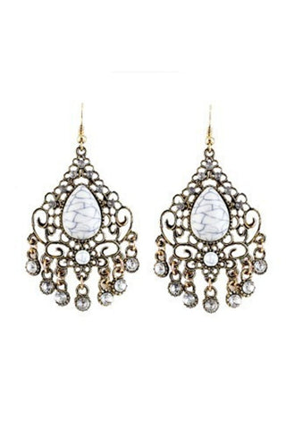 Chandelier Drop Earring-EARRINGS-Fierce Finds Mobile Boutique