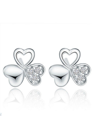 Clover Crystal Studs-EARRINGS-Fierce Finds Mobile Boutique