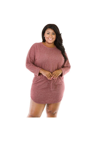 Comfy Cute Dress Plus-Plus Size-Fierce Finds Mobile Boutique
