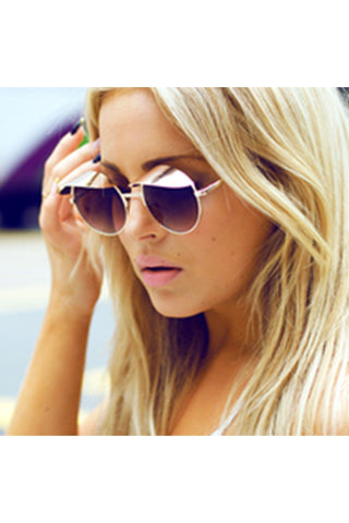 Cool & Capped Sunglasses-Sunglasses-Fierce Finds Mobile Boutique