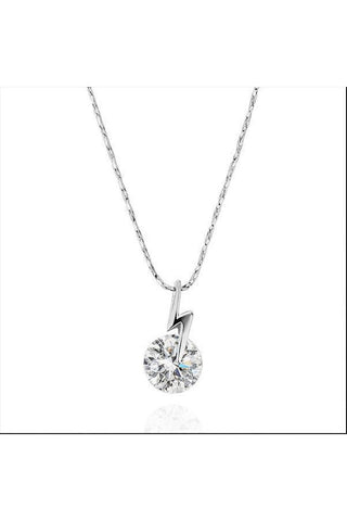 Crystal Lightening Dainty Necklace - Fierce Finds Mobile Boutique  - 1