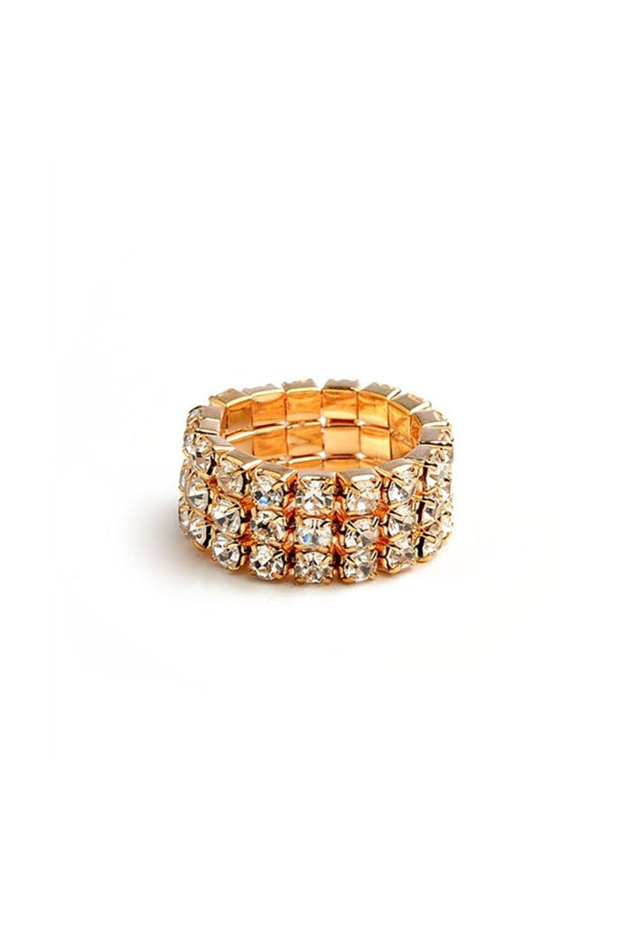 Crystal Stretch Ring - Fierce Finds Mobile Boutique  - 1