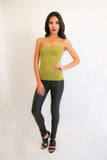 Green Cami Top - Fierce Finds Mobile Boutique  - 3