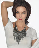 Chained Pearl Necklace - Fierce Finds Mobile Boutique  - 2