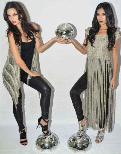 Handcrafted Long Fringe Vest - Fierce Finds Mobile Boutique  - 4