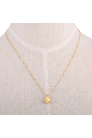 Dainty Crown Necklace - Fierce Finds Mobile Boutique  - 1