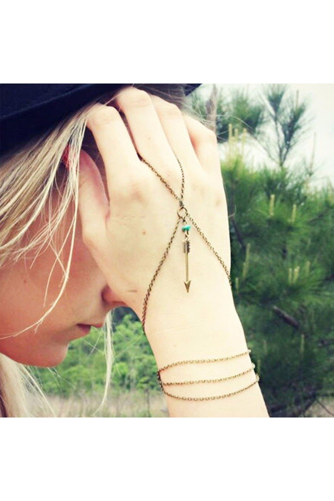 Dainty Hand Chain-Accessories-Fierce Finds Mobile Boutique