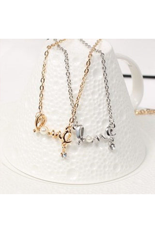 Dainty Love Necklace - Fierce Finds Mobile Boutique  - 1