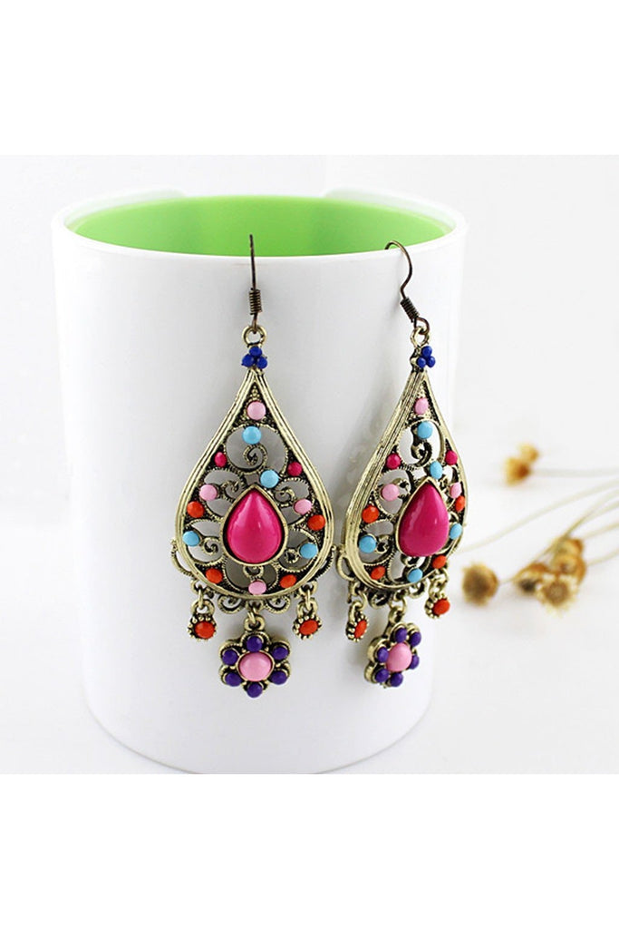 Daisy Drop Earring - Fierce Finds Mobile Boutique  - 1