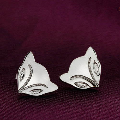 Foxy Studs Sterling Silver - Fierce Finds Mobile Boutique  - 4